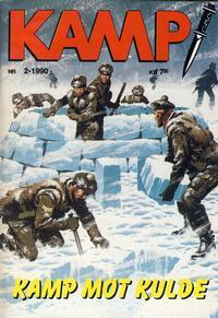 Cover Thumbnail for Kamp-serien (Serieforlaget / Se-Bladene / Stabenfeldt, 1964 series) #2/1990