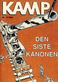 Cover Thumbnail for Kamp-serien (Serieforlaget / Se-Bladene / Stabenfeldt, 1964 series) #3/1990