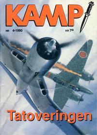 Cover Thumbnail for Kamp-serien (Serieforlaget / Se-Bladene / Stabenfeldt, 1964 series) #4/1990