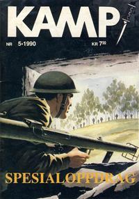 Cover Thumbnail for Kamp-serien (Serieforlaget / Se-Bladene / Stabenfeldt, 1964 series) #5/1990