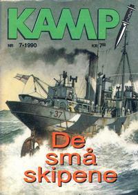 Cover Thumbnail for Kamp-serien (Serieforlaget / Se-Bladene / Stabenfeldt, 1964 series) #7/1990