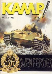 Cover Thumbnail for Kamp-serien (Serieforlaget / Se-Bladene / Stabenfeldt, 1964 series) #12/1990