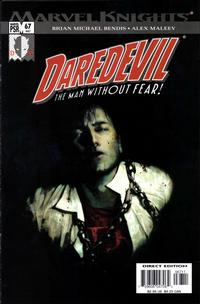 Cover Thumbnail for Daredevil (Marvel, 1998 series) #67 (447) [Direct Edition]