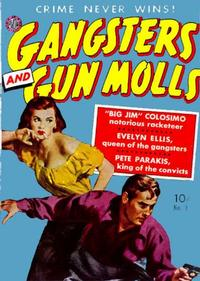Cover Thumbnail for Gangsters and Gunmolls (Avon, 1951 series) #1