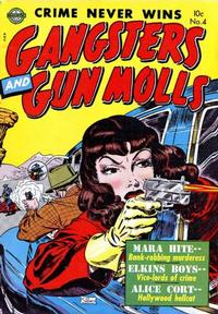 Cover Thumbnail for Gangsters and Gunmolls (Avon, 1951 series) #4