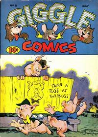 Cover Thumbnail for Giggle Comics (American Comics Group, 1943 series) #8