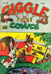 Cover Thumbnail for Giggle Comics (American Comics Group, 1943 series) #10