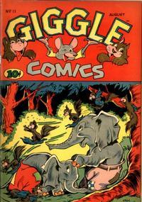 Cover Thumbnail for Giggle Comics (American Comics Group, 1943 series) #11