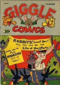 Cover Thumbnail for Giggle Comics (American Comics Group, 1943 series) #14