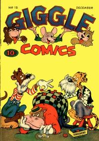 Cover Thumbnail for Giggle Comics (American Comics Group, 1943 series) #15