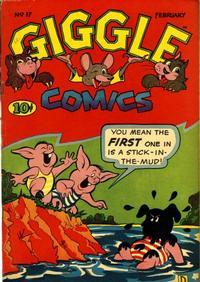 Cover Thumbnail for Giggle Comics (American Comics Group, 1943 series) #17