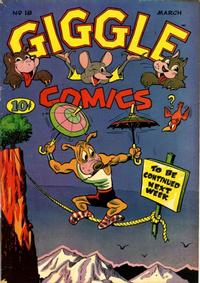 Cover Thumbnail for Giggle Comics (American Comics Group, 1943 series) #18