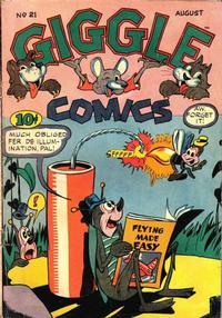Cover Thumbnail for Giggle Comics (American Comics Group, 1943 series) #21