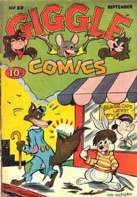 Cover Thumbnail for Giggle Comics (American Comics Group, 1943 series) #22