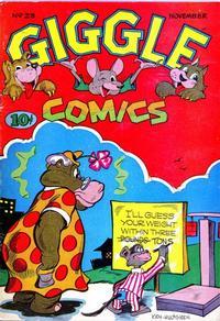 Cover Thumbnail for Giggle Comics (American Comics Group, 1943 series) #23
