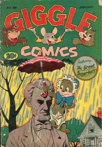 Cover Thumbnail for Giggle Comics (American Comics Group, 1943 series) #25