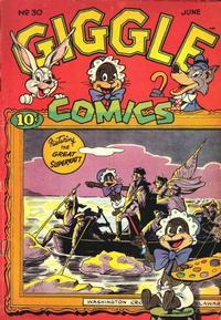 Cover Thumbnail for Giggle Comics (American Comics Group, 1943 series) #30
