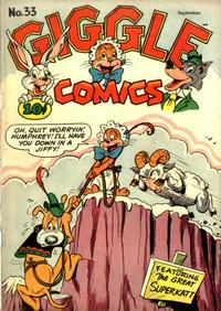 Cover Thumbnail for Giggle Comics (American Comics Group, 1943 series) #33