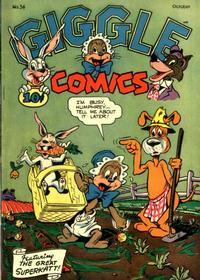 Cover Thumbnail for Giggle Comics (American Comics Group, 1943 series) #34