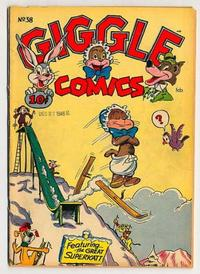 Cover Thumbnail for Giggle Comics (American Comics Group, 1943 series) #38