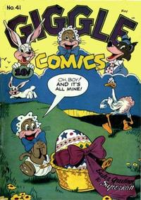 Cover Thumbnail for Giggle Comics (American Comics Group, 1943 series) #41