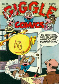 Cover Thumbnail for Giggle Comics (American Comics Group, 1943 series) #45
