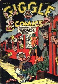 Cover Thumbnail for Giggle Comics (American Comics Group, 1943 series) #52