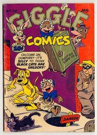 Cover Thumbnail for Giggle Comics (American Comics Group, 1943 series) #56