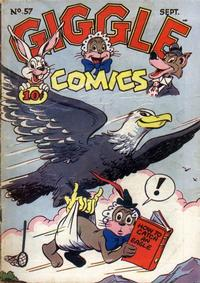 Cover Thumbnail for Giggle Comics (American Comics Group, 1943 series) #57