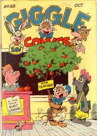Cover Thumbnail for Giggle Comics (American Comics Group, 1943 series) #58