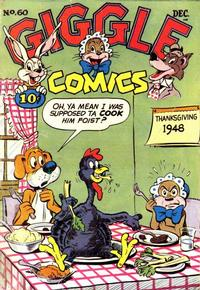 Cover Thumbnail for Giggle Comics (American Comics Group, 1943 series) #60