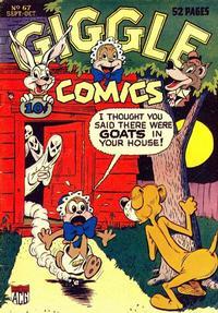 Cover Thumbnail for Giggle Comics (American Comics Group, 1943 series) #67