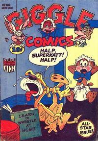 Cover Thumbnail for Giggle Comics (American Comics Group, 1943 series) #68