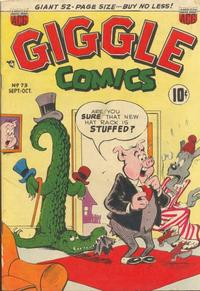Cover Thumbnail for Giggle Comics (American Comics Group, 1943 series) #73