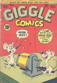 Cover Thumbnail for Giggle Comics (American Comics Group, 1943 series) #74