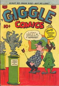 Cover Thumbnail for Giggle Comics (American Comics Group, 1943 series) #78