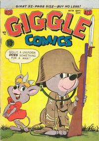 Cover Thumbnail for Giggle Comics (American Comics Group, 1943 series) #79