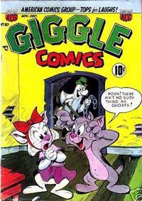 Cover Thumbnail for Giggle Comics (American Comics Group, 1943 series) #80
