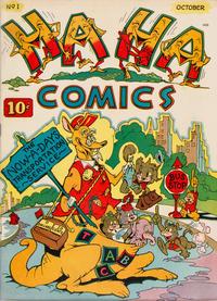 Cover Thumbnail for Ha Ha Comics (American Comics Group, 1943 series) #1