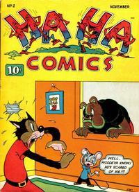 Cover Thumbnail for Ha Ha Comics (American Comics Group, 1943 series) #2