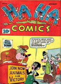 Cover Thumbnail for Ha Ha Comics (American Comics Group, 1943 series) #4