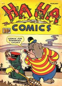 Cover Thumbnail for Ha Ha Comics (American Comics Group, 1943 series) #5