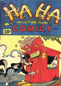 Cover Thumbnail for Ha Ha Comics (American Comics Group, 1943 series) #6