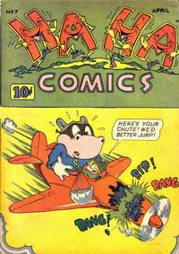 Cover Thumbnail for Ha Ha Comics (American Comics Group, 1943 series) #7