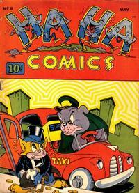 Cover Thumbnail for Ha Ha Comics (American Comics Group, 1943 series) #8