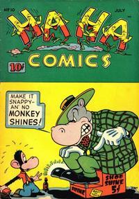 Cover Thumbnail for Ha Ha Comics (American Comics Group, 1943 series) #10