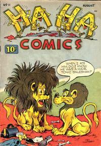 Cover Thumbnail for Ha Ha Comics (American Comics Group, 1943 series) #11