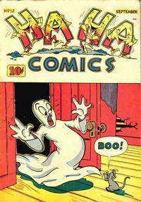 Cover Thumbnail for Ha Ha Comics (American Comics Group, 1943 series) #12