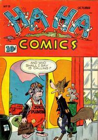 Cover Thumbnail for Ha Ha Comics (American Comics Group, 1943 series) #13