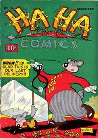 Cover Thumbnail for Ha Ha Comics (American Comics Group, 1943 series) #15
